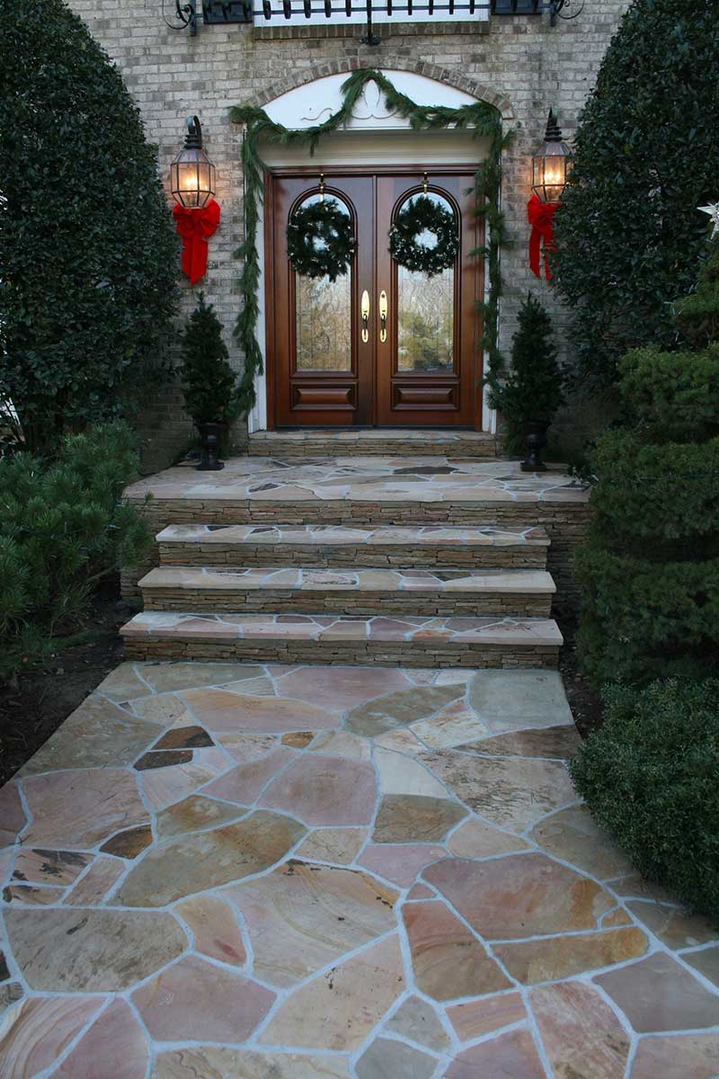 Front Walkway and Patio