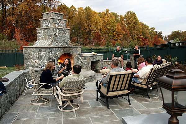 Maryland Firepits and Fireplaces